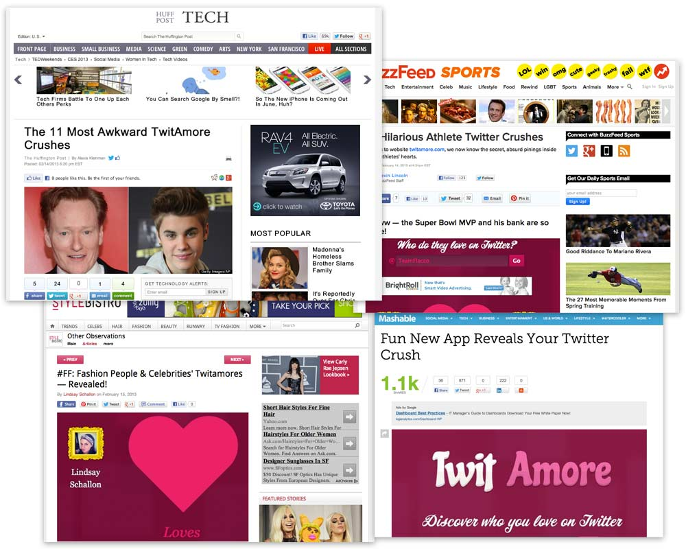 TwitAmore Viral
